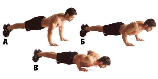 Как накачать грудные мышцы отжиманиями в домашних условиях 626