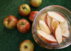 Закваска яблок