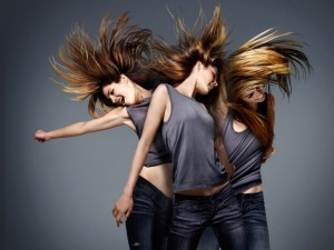 Разные типы волос