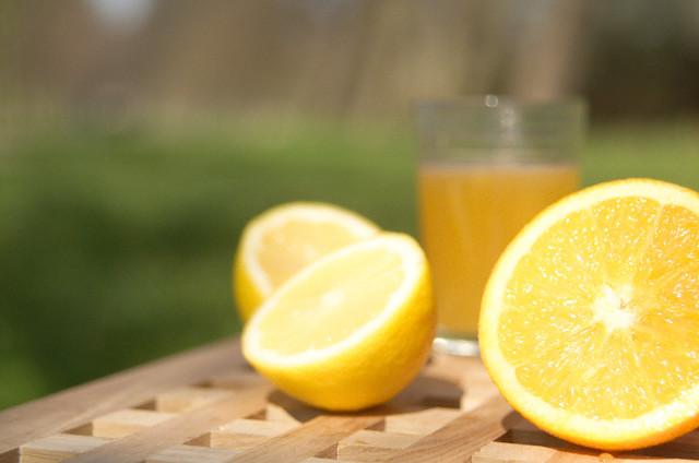 сок лимона и сода