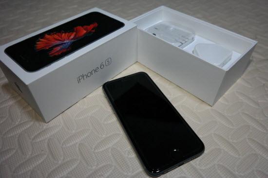 Айфон и коробка