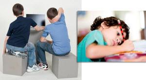 Дети сидят не правильно