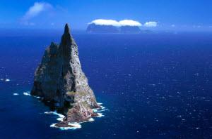 Гора в океане