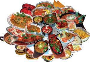 Острая и жирная пища