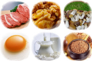 Продукты с витамином PP