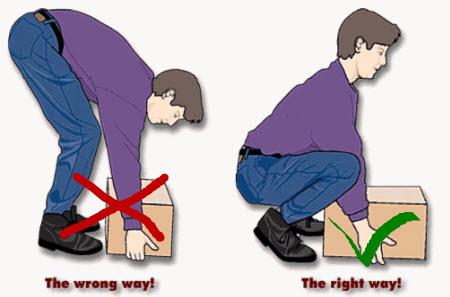 Как правильно подымать вес