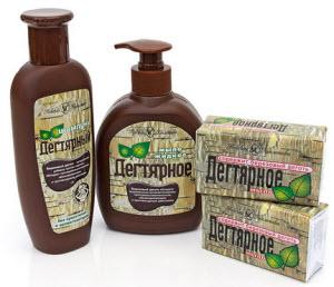 Дегтярное мыло и шампунь