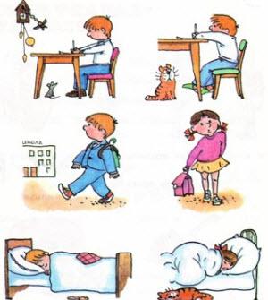 Школьный день ребенка