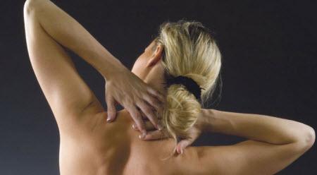 Дискомфорт в шеи