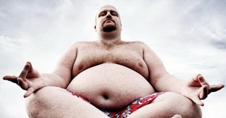 Толстый парень