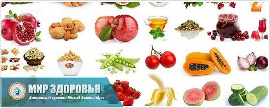 Полезные продукты при запорах