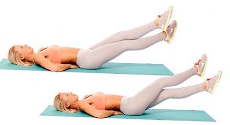 какие упражнения нужно делать чтобы убрать жир