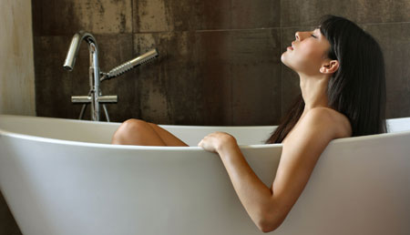 ванна с травами