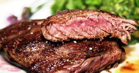 стейк из мяса