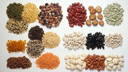 крупы с высоким содержанием белка