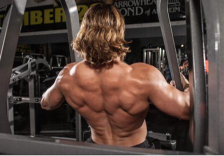 как накачать огромную спину
