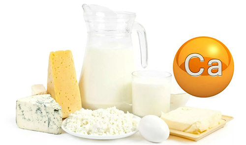 Кальций с молочных продуктов